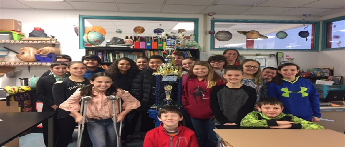 Congratulations to Mrs. Underwood's homeroom for having the best attendance in the building for the month of February 2018.