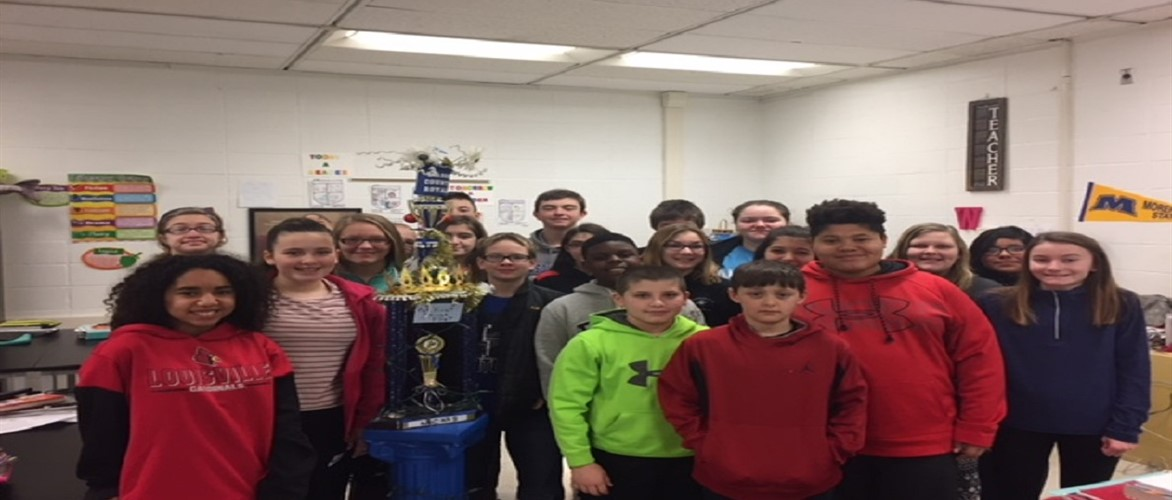 Congratulations to Mrs. Worsham's homeroom for having the best attendance in the building for the month of January 2018.